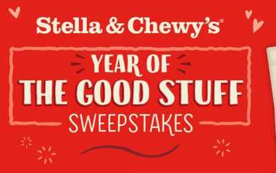Stella & Chewy's Year of Good Stuff Sweepstakes