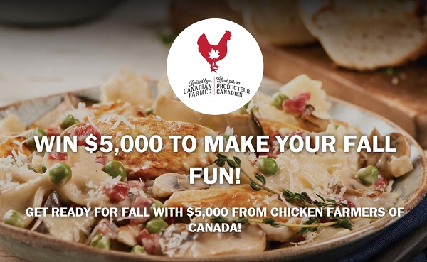 Chicken Farmers of Canada Summer Cash Sweepstakes 2020