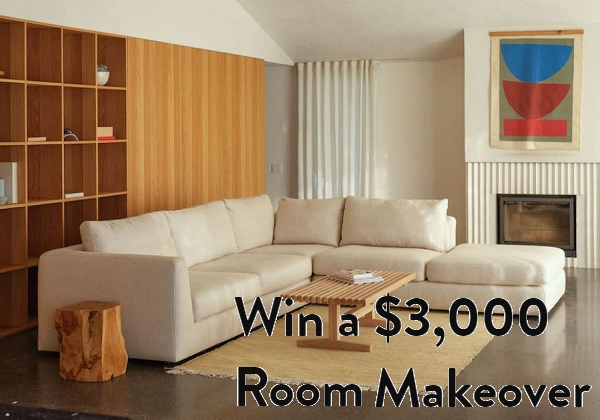 Domino $3,000 Room Makeover Sweepstakes 2020