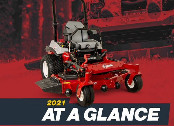 Exmark 2021 at A Glance Sweepstakes