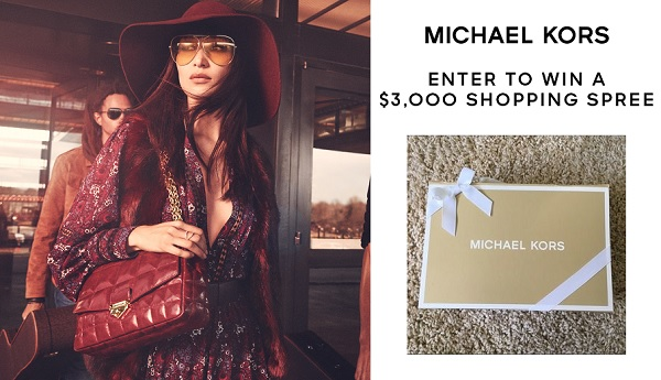 Michael Kors Fall Sweepstakes 2020