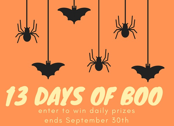 Oriental Trading's 13-days of Boo Giveaway 2020