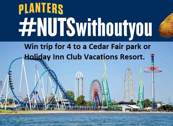 Planters Nuts Without You Sweepstakes 2020 – Win Free Vacation!