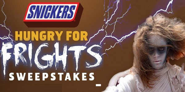 Six Flags presents the Snickers Hungry for Frights Sweepstakes 2020