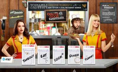 2 Broke Girls Open For Good Sweepstakes
