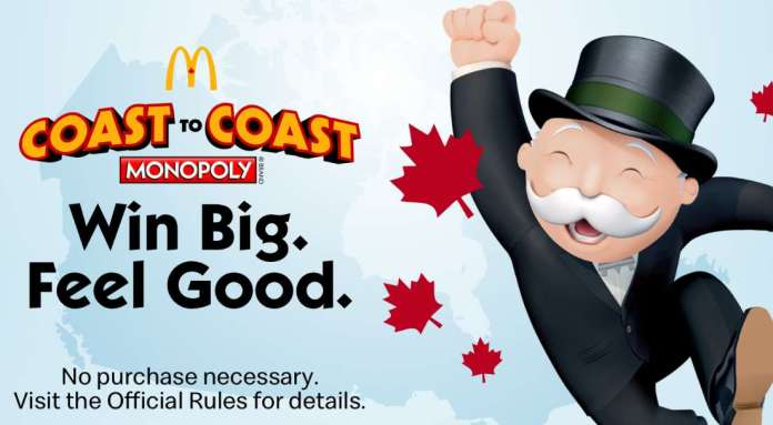 McDonalds Monopoly Canada 2020 Rare Pieces (Mcdpromotion.ca)