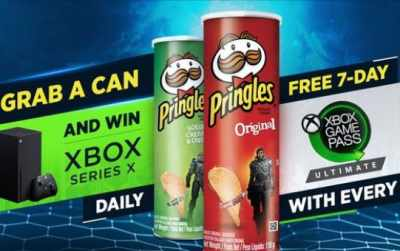 Pringles Xbox Series X Competition 2020