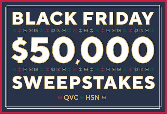 HSN Black Friday Sweepstakes 2020 (Hsn.com/sweepstakes)