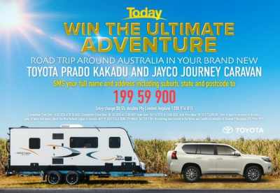 Today Show Caravan Competition 2020 – Win Aussie Adventure