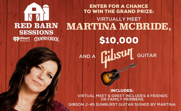 Red Barn Sessions Sweepstakes 2020