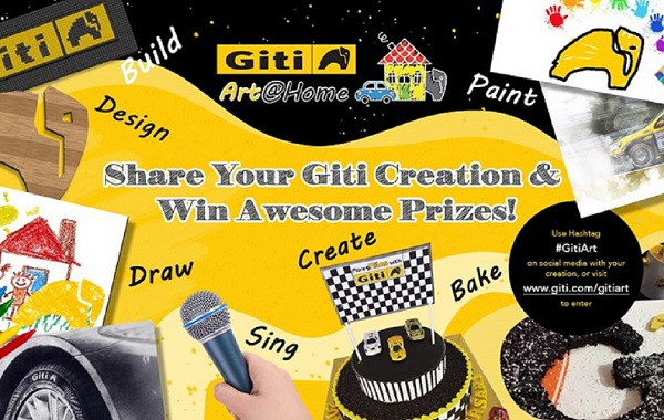 Giti Art @Home October Contest