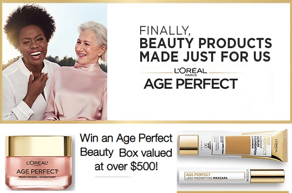 L'Oréal Age Perfect Beauty Box Sweepstakes