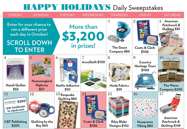 Meredith Corporation Happy Holidays Daily Sweepstakes 2020