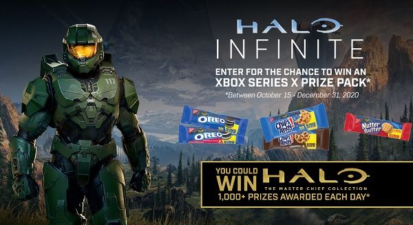 Nabisco Halo Infinite Sweepstakes (1200+ Daily Entries)