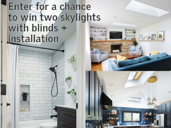 Velux Daylight Renovation Sweepstakes 2020