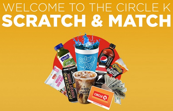 Circle K Scratch & Match Instant Win Game: Win $50,000 Prizes Daily