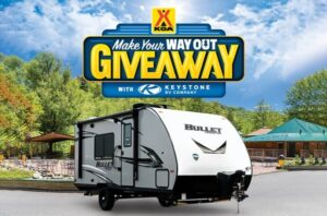 KOA Keystone Make Your Way Out Giveaway