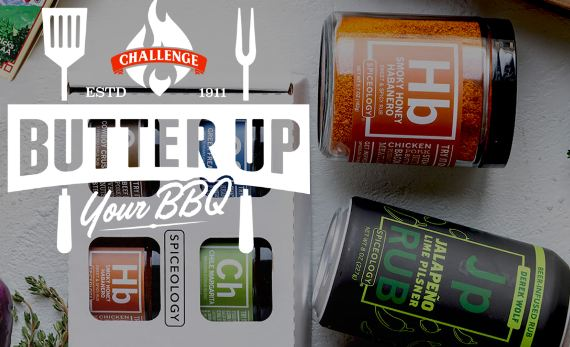 Challenge Butter $5,000 Butter Up Your BBQ Sweepstakes